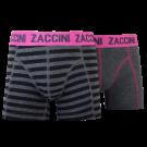 Zaccini jongens boxershorts 2-pack, Breton Stripe.