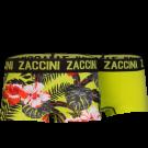 Zaccini meisjes shorts 2-pack, Jungle Flower.