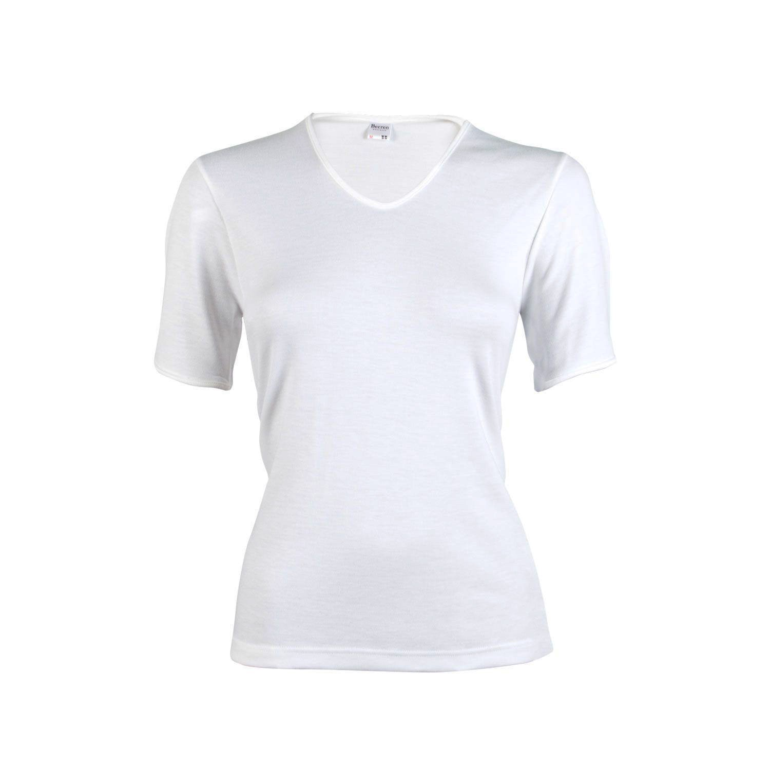Beeren dames Thermo shirt korte mouw Wolwit