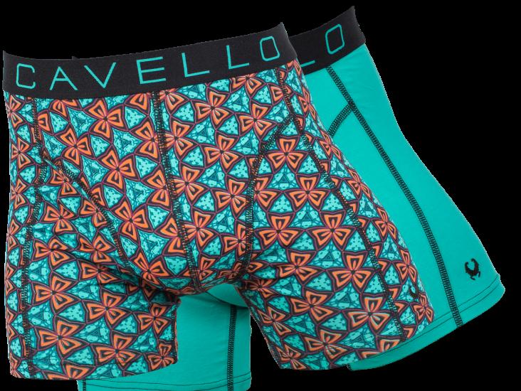 Cavello heren boxershort 2-pack 18001