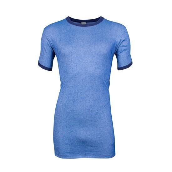 Beeren Heren Hemd Korte Mouw (M2000 blauwe streep)