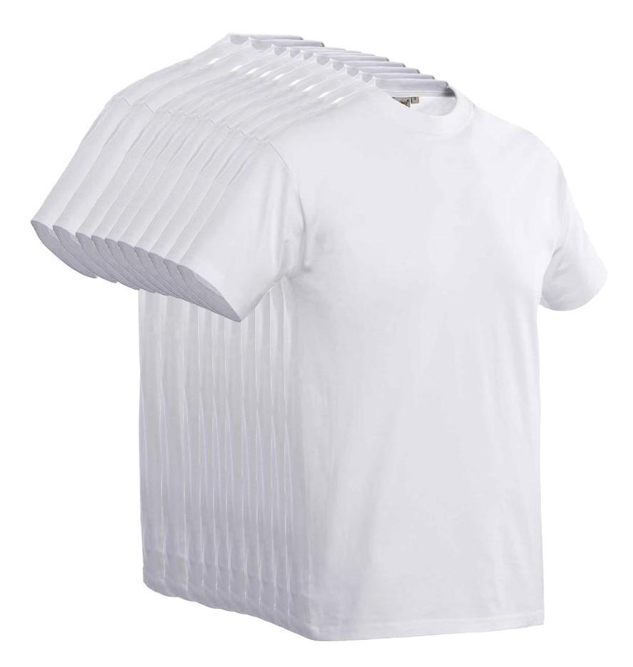 Voordelige 10-pak Santino T-shirt Joy Wit