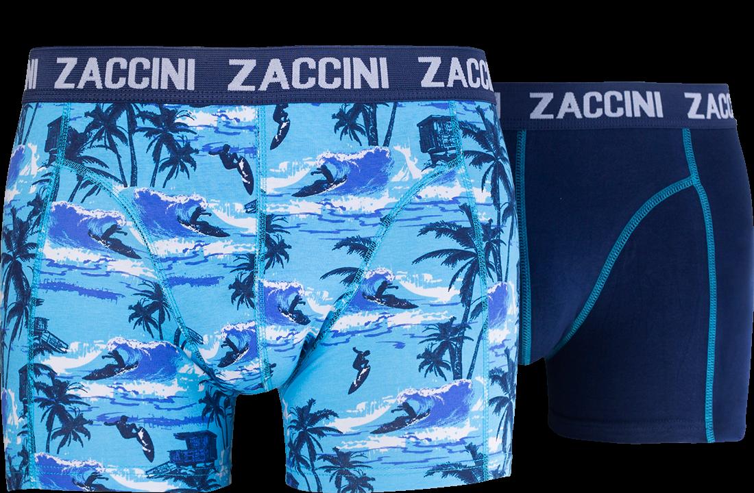 Zaccini heren boxershorts 2-pack, Surfing