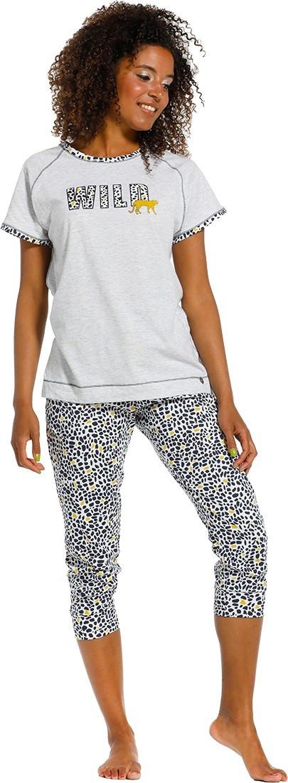 """Rebelle Dames Pyjama """"Wild"""" (capri)"""
