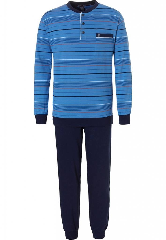 Robson heren pyjama 709 Blue