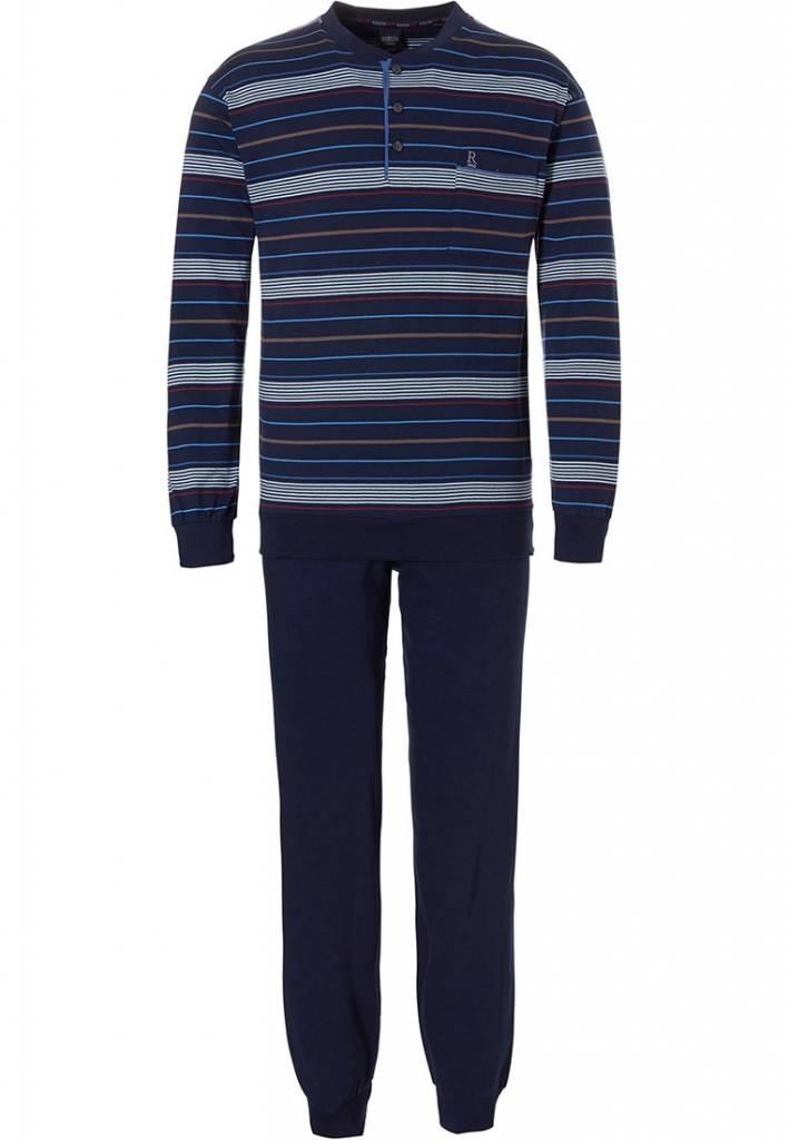 Robson heren pyjama 709 Navy