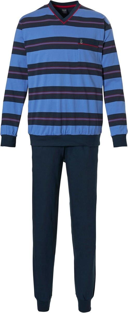 Robson heren pyjama 709-2 Blue