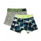Vingino Jongens boxershorts 2-pack, Striped Tropics