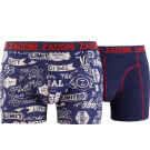 Zaccini heren boxershorts 2-pack, Authentic