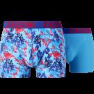 Zaccini heren boxershorts 2-pack, Painted Spring