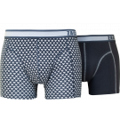 Zaccini heren boxershorts 2-pack, Triangle