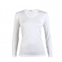 Beeren dames Thermo shirt lange mouw Wolwit