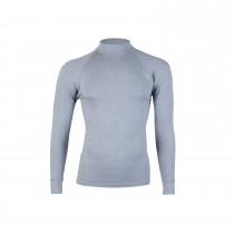RJ Bodywear Heren Thermo shirt lange mouw, Grijs
