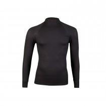 RJ Bodywear Heren Thermo shirt lange mouw zwart