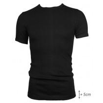 Beeren t-shirt korte mouw M3000 zwart, EXTRA lang.
