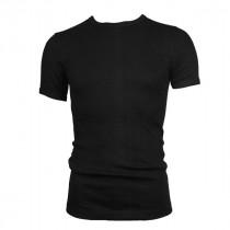 Extra voordelige 10-pack Beeren t-shirt korte mouw ronde hals Zwart.