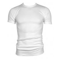 Beeren t-shirt korte mouw ronde hals M3000 wit