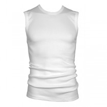 Beeren mouwloos shirt met ronde hals, M3000
