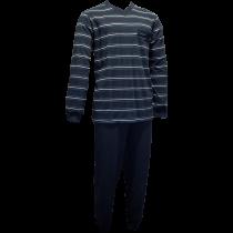 Gentlemen heren pyjama 4153 V-hals, Double Jersey!