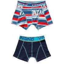 Vingino Jongens boxershorts 2 pack, Bas