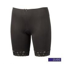 Avet dames boxershort lang 38490 Zwart
