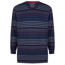 Pyjama shirt lange mouw Pastunette V-hals