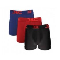 J&C Club heren boxers 3-pack print 4485 BRZ
