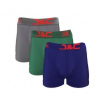 J&C Club heren boxers 3-pack print 4485 GGB