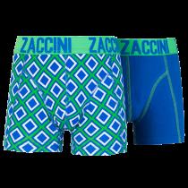 Zaccini jongens boxershorts 2-pack, Ocean Square.
