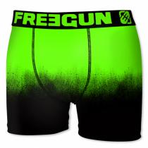 Freegun Jongens boxershort, Black-Green