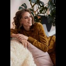 Eskimo dames pyjama velourse Farah