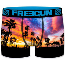 Freegun Heren boxershort. Palm Black