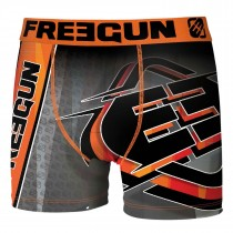 Freegun Jongens boxershort, cross orange