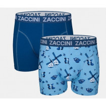 va € 14,95 Zaccini heren boxershorts 2-pack Delft