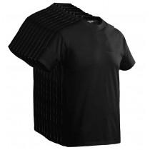 Santino T-shirt Joy Donker Zwart 10 pak
