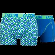 Zaccini heren boxershorts 2-pack, Ocean Square