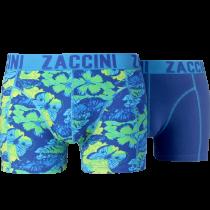 Zaccini heren boxershorts 2-pack, Summer Butterfly