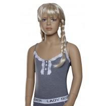 Lunatex meisjes hemd Stripe