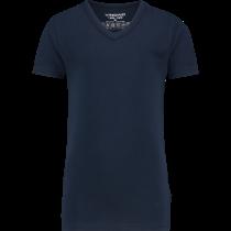 Vingino T-shirt Korte Mouw met V-neck, Navy