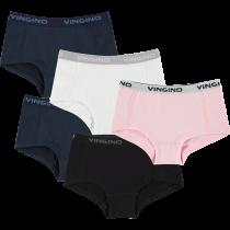 Vingino Meisjes Shorts 5-pack Uni.