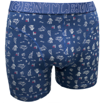 Gentlemen BB heren boxershort, New York teal