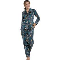 Pastunette DeLuxe dames pyjama Satin Jungle 303-6
