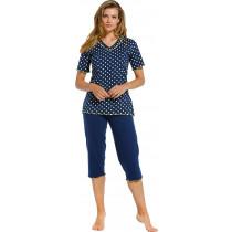 Pastunette Dames pyjama Dots 156-2 (capri)