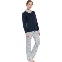 Pastunette dames pyjama dikke tricot 112-2