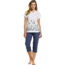 Pastunette Dames pyjama 130-4 (capri)
