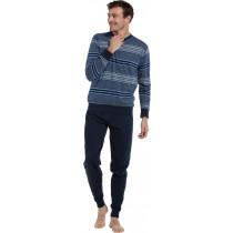 Pastunette heren pyjama V-hals 601-2
