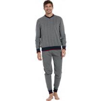 Pastunette heren pyjama V-hals 624-2