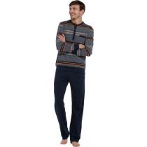 Pastunette heren pyjama knoopje 638-4