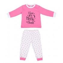 Baby pyjama Beeren To the Moon, Roze
