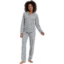 Rebelle dames pyjama Cats (doorknoop)